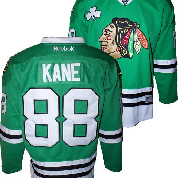 2ee9f2b24 REEBOK Shirts   Patrick Kane Special St Patricks Day Jersey   Poshmark